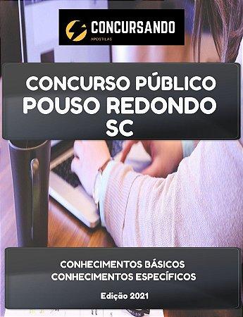 APOSTILA PREFEITURA DE POUSO REDONDO SC 2021 PROFESSOR DE EDUCAÇÃO FÍSICA