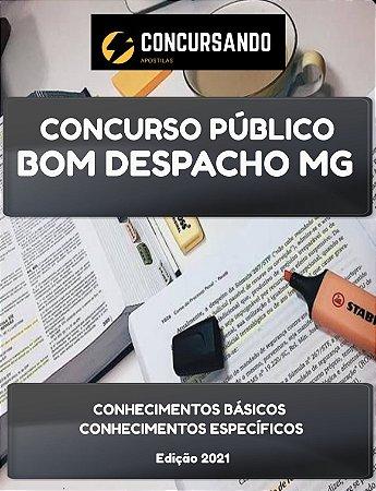APOSTILA PREFEITURA DE BOM DESPACHO MG 2021 PEB III MATEMÁTICA
