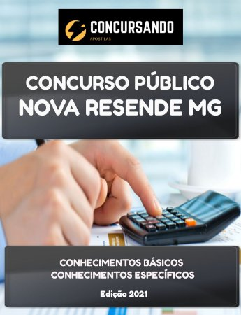 APOSTILA PREFEITURA DE NOVA RESENDE MG 2021 ASSISTENTE SOCIAL