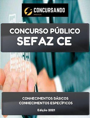APOSTILA SEFAZ CE 2021 AUDITOR FISCAL CONTÁBIL FINANCEIRO DA RECEITA ESTADUAL