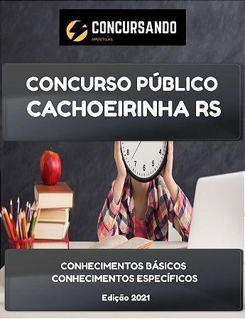 APOSTILA PREFEITURA DE CACHOEIRINHA RS 2021 FISCAL SANITÁRIO