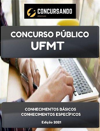 APOSTILA UFMT 2021 TÉCNICO EM ASSUNTOS EDUCACIONAIS