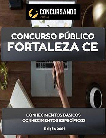 APOSTILA PREFEITURA DE FORTALEZA CE 2021 AUXILIAR DE PRÓTESE DENTÁRIA