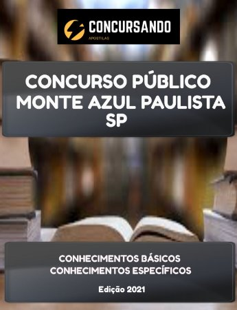 APOSTILA PREFEITURA DE MONTE AZUL PAULISTA SP 2021 PROCURADOR JURÍDICO