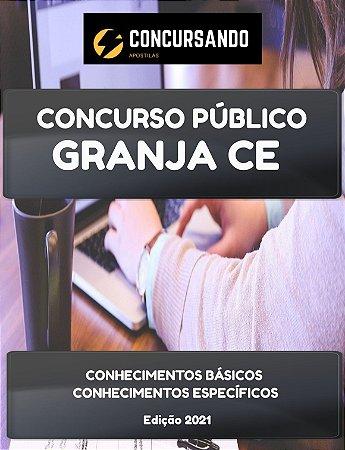 APOSTILA PREFEITURA DE GRANJA CE 2021 ENGENHEIRO CIVIL