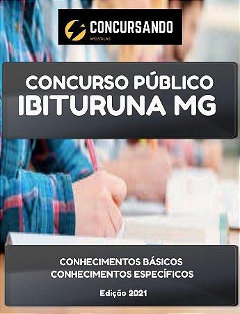 APOSTILA CÂMARA DE IBITURUNA MG 2021 ASSESSOR JURÍDICO
