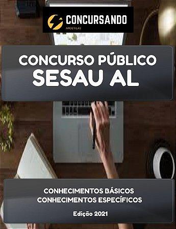 APOSTILA SESAU AL 2021 ENFERMEIRO - URGÊNCIA EMERGÊNCIA