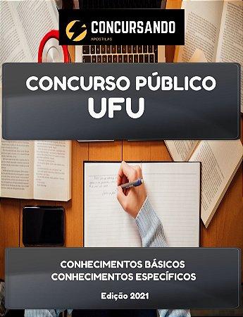 APOSTILA UFU 2021 TÉCNICO EM CONTABILIDADE