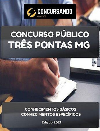APOSTILA PREFEITURA DE TRÊS PONTAS MG 2021 ESPECIALISTA EM SAÚDE V PSICOLOGIA CLÍNICA