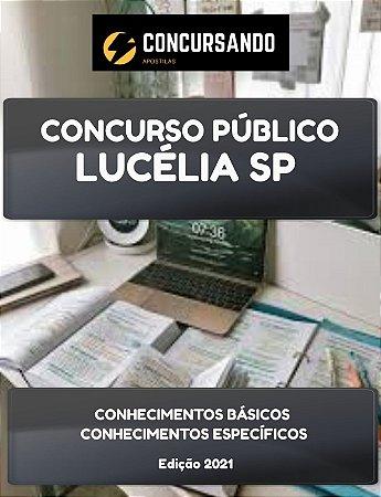 APOSTILA PREFEITURA DE LUCÉLIA SP 2021 PSICÓLOGO