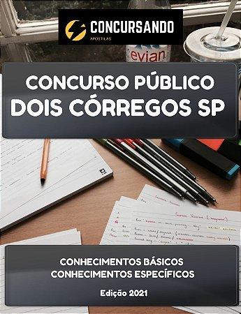 APOSTILA PREFEITURA DE DOIS CÓRREGOS SP 2021 ENFERMEIRO