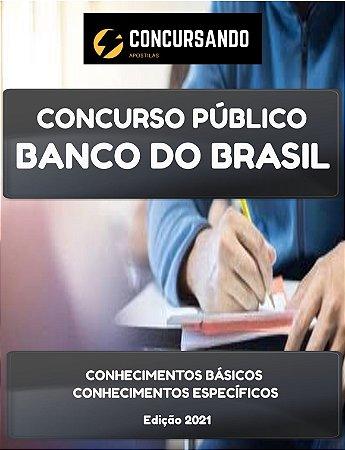 APOSTILA BANCO DO BRASIL 2021 ESCRITURÁRIO AGENTE DE TECNOLOGIA