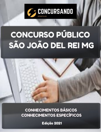 APOSTILA PREFEITURA DE SÃO JOÃO DEL REI MG 2021 CONTADOR