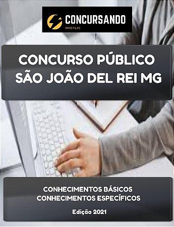 APOSTILA PREFEITURA DE SÃO JOÃO DEL REI MG 2021 FISIOTERAPEUTA