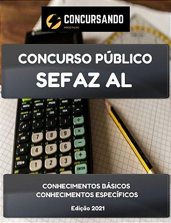 APOSTILA SEFAZ AL 2021 AUDITOR DE FINANÇAS E CONTROLE DE ARRECADAÇÃO DA FAZENDA ESTADUAL