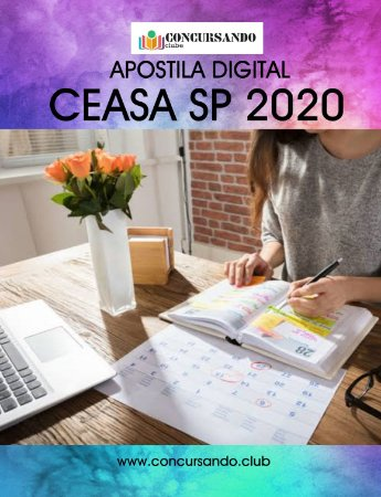 APOSTILA CEASA CAMPINAS SP 2020 NUTRICIONISTA