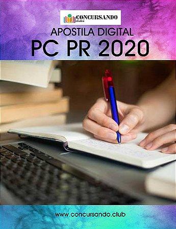 APOSTILA PC PR 2020 INVESTIGADOR DE POLÍCIA