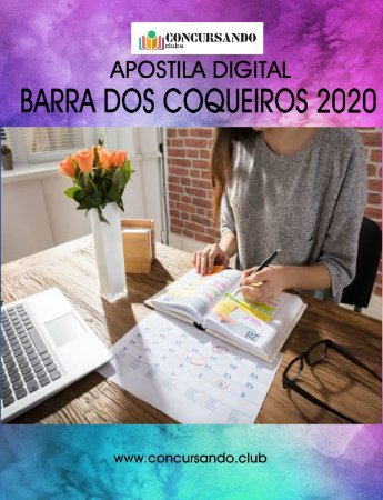 APOSTILA PREFEITURA DE BARRA DOS COQUEIROS SE 2020 BIBLIOTECÁRIO