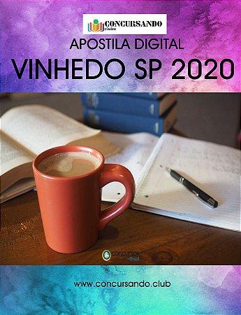 APOSTILA CÂMARA DE VINHEDO SP 2020 PROCURADOR JURÍDICO