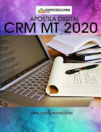 APOSTILA CRM MT 2020 MÉDICO FISCAL