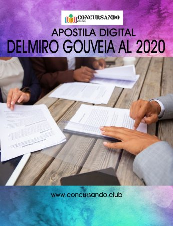 APOSTILA PREFEITURA DE DELMIRO GOUVEIA AL 2020 PROFESSOR DE MATEMÁTICA