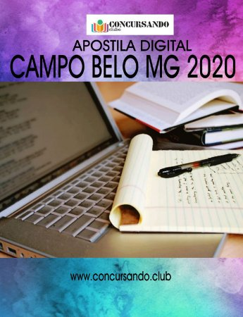 APOSTILA PREFEITURA DE CAMPO BELO MG 2020 ANALISTA DE TECNOLOGIA DA INFORMAÇÃO