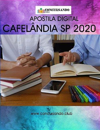 APOSTILA PREFEITURA DE CAFELÂNDIA SP 2020 FISIOTERAPEUTA