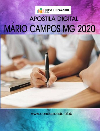 APOSTILA PREFEITURA DE MÁRIO CAMPOS MG 2020 FISIOTERAPEUTA