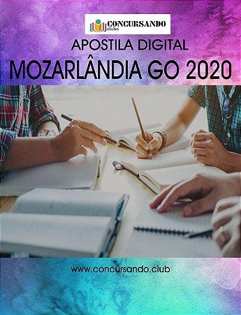APOSTILA PREFEITURA DE MOZARLÂNDIA GO 2020 PROFESSOR PEDAGOGO N-1