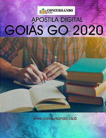 APOSTILA PREFEITURA DE GOIÁS GO 2020 AGENTE FISCAL DE OBRAS, POSTURAS, AMBIENTAL, TRÂNSITO E TRANSPORTES, DO CONSUMIDOR E OUTROS SERVIÇOS