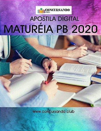 APOSTILA PREFEITURA DE MATURÉIA PB 2020 ENFERMEIRO PSF