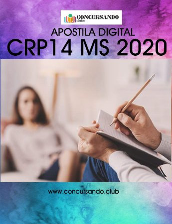 APOSTILA CRP 14 MS 2020 AUXILIAR ADMINISTRATIVO DE SECRETARIA