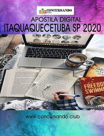 APOSTILA PREFEITURA DE ITAQUAQUECETUBA SP 2020 PROCURADOR