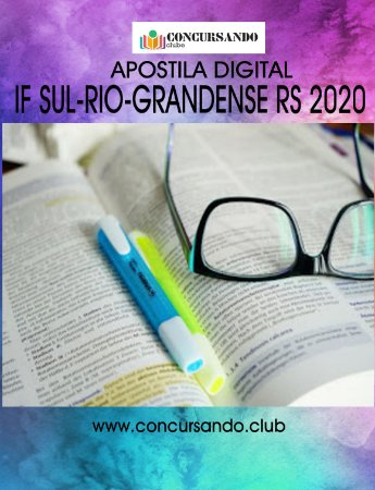 APOSTILA IF SUL-RIO-GRANDENSE RS 2020 CONTROLE E PROCESSOS INDUSTRIAIS I
