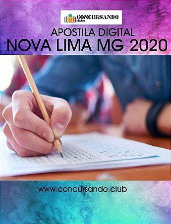 APOSTILA PREFEITURA DE NOVA LIMA MG 2020 AGENTE DE COMBATE ÀS ENDEMIAS