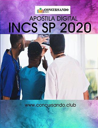 APOSTILA INCS SP 2020 TÉCNICO EM ENFERMAGEM