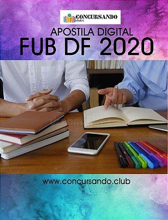 APOSTILA FUB DF 2020 PSICÓLOGO - ÁREA: CLÍNICA