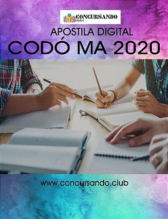APOSTILA PREFEITURA DE CODÓ MA 2020 NUTRICIONISTA
