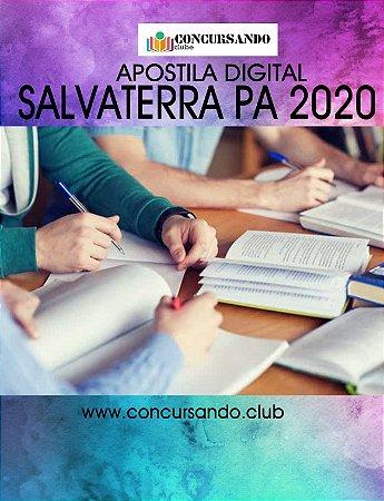 APOSTILA PREFEITURA DE SALVATERRA PA 2020 PROFESSOR DE EDUCAÇÃO BÁSICA - ANOS INICIAIS