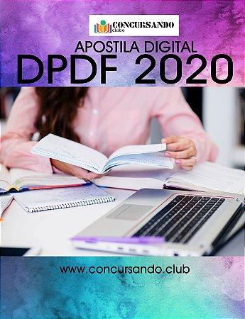 APOSTILA DPDF 2020 DIREITO E LEGISLAÇÃO