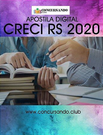 APOSTILA CRECI RS 2020 ASSISTENTE ADMINISTRATIVO PST