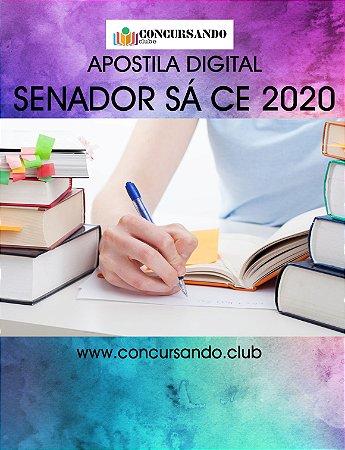 APOSTILA PREFEITURA DE SENADOR SÁ CE 2020 ANALISTA DE LICITAÇÃO