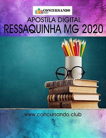 APOSTILA CÂMARA DE RESSAQUINHA MG 2020 ASSESSOR JURÍDICO
