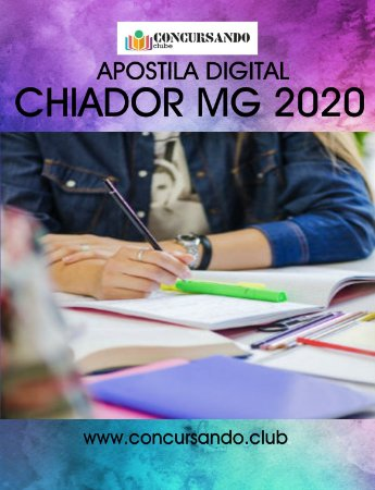 APOSTILA PREFEITURA DE CHIADOR MG 2020 ANALISTA DE CONTABILIDADE