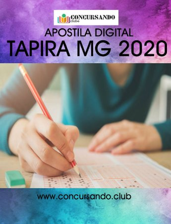 APOSTILA PREFEITURA DE TAPIRA MG 2020 PROFESSOR DE EDUCAÇÃO FÍSICA - PEB II