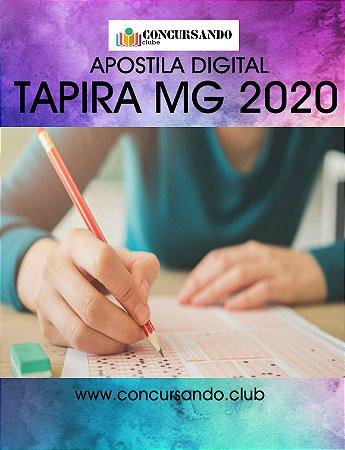 APOSTILA PREFEITURA DE TAPIRA MG 2020 PROFESSOR ANOS INICIAIS - PEB I