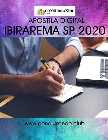 APOSTILA PREFEITURA DE IBIRAREMA SP 2020 AGENTE DE CONTROLE DE VETORES