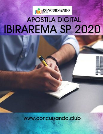APOSTILA PREFEITURA DE IBIRAREMA SP 2020 AUXILIAR DE CONTABILIDADE