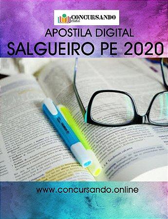 APOSTILA PREFEITURA DE SALGUEIRO PE 2020 PROFESSOR DE EDUCAÇÃO INFANTIL E ENSINO FUNDAMENTAL ANOS INICIAIS