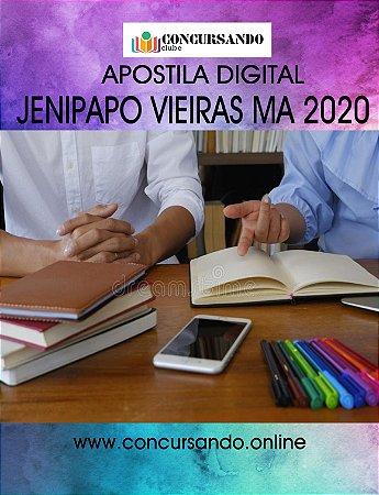 APOSTILA PREFEITURA DE JENIPAPO VIEIRAS MA 2020 FISIOTERAPEUTA (S321)
